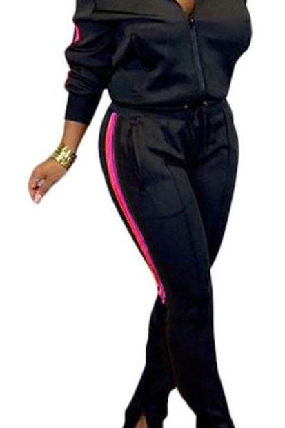 Black 2 pc Jogger