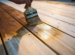 Varnishing the Deck