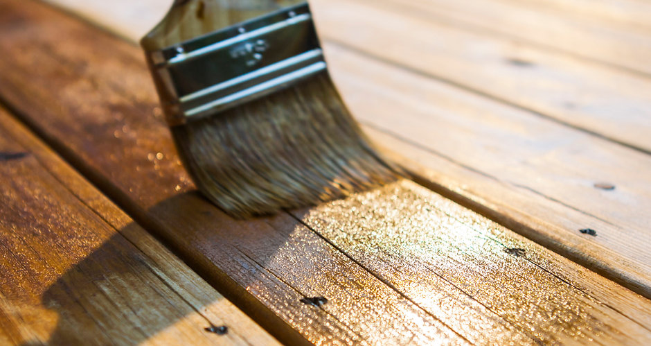 Varnishing the Deck