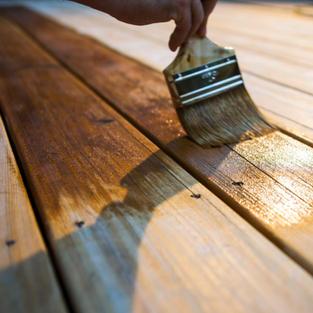 Wood varnish prep