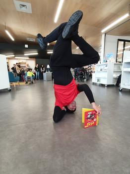 Impromptu danse hip hop | Médiathèque Alphonse Daudet Gerzat
