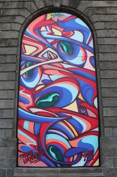 Graffiti Street art | Halle-au-blés 2018
