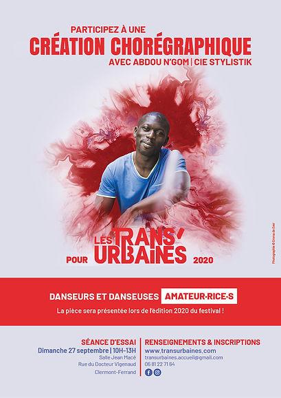 Affiche - Atelier Abdou - Amateurs-rices