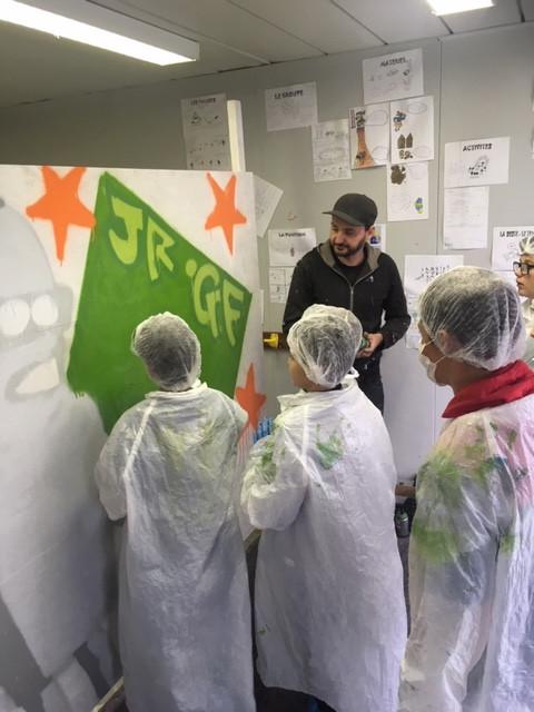 Atelier graffiti   Médiathèque de Pont-du-Château