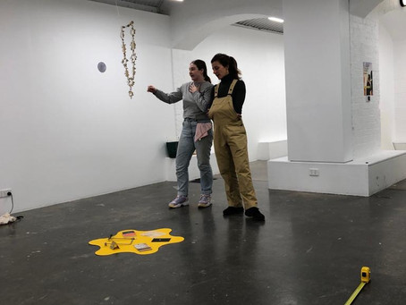 Perceiving Practice, First Site Gallery Exhibition, RMIT University.