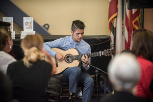Performing at CSU East Bay, Honorary Doctorate Luncheon in recognition of Dr. Justin Dillon