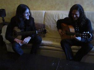 with Tomatito, Flamenco Guitarist, 2014