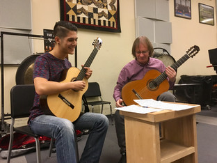Masterclass with David Russell, courtesy of the South Bay Classical Guitar Society