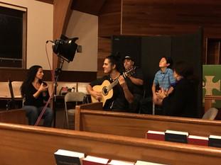 Recording for upcoming Flamenco album with ensemble Pirouz Ebadypour (Singer), Ernesto Granados (Percussion), Stephanie Narvaez and Kerensa de Mars (Palmas)