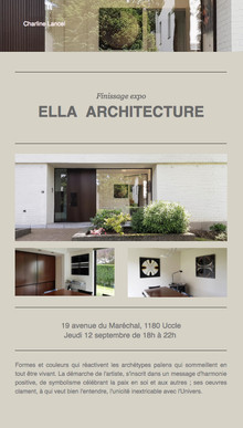 Ella Architecture Brussels
