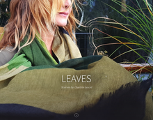 LEAVES Scarves by Charline lancel