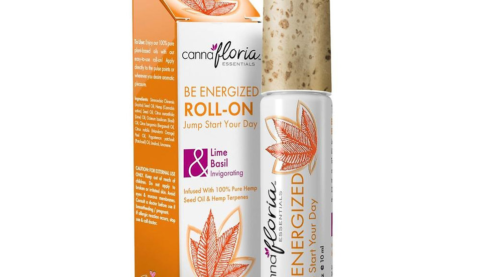 Be Energized Aromatherapy roll on oil
