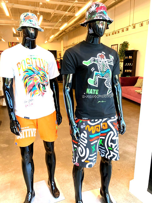 Men's Clothing - Positive Wear - Summer 2021 Collection