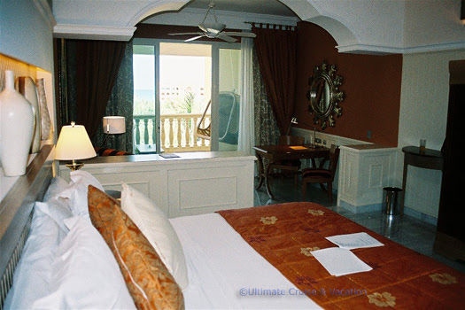 Suites are generous in size and luxurious at Iberostar Grand Hotel Paraiso.