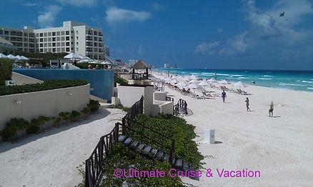 Beach at Live Aqua Cancun