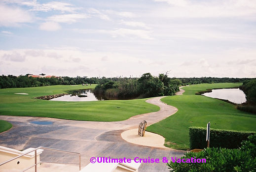 Use your Resort Credit to Golf at Moon Palace Cancun.
