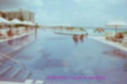Long pool at Live Aqua Cancun