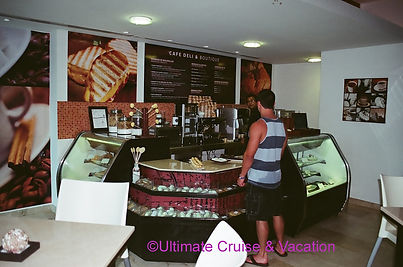 Deli at Live Aqua Cancun.