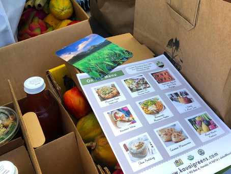 Kaua'i quarantine grocery shopping & delivery, let us shop for you!