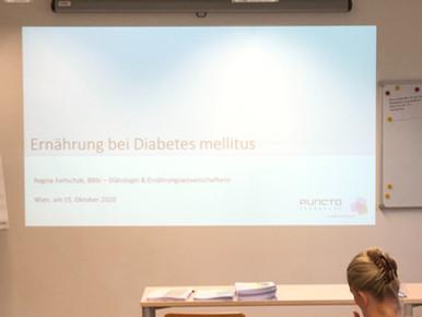 "Fachvortrag ""Ernährung bei Diabetes mellitus"""