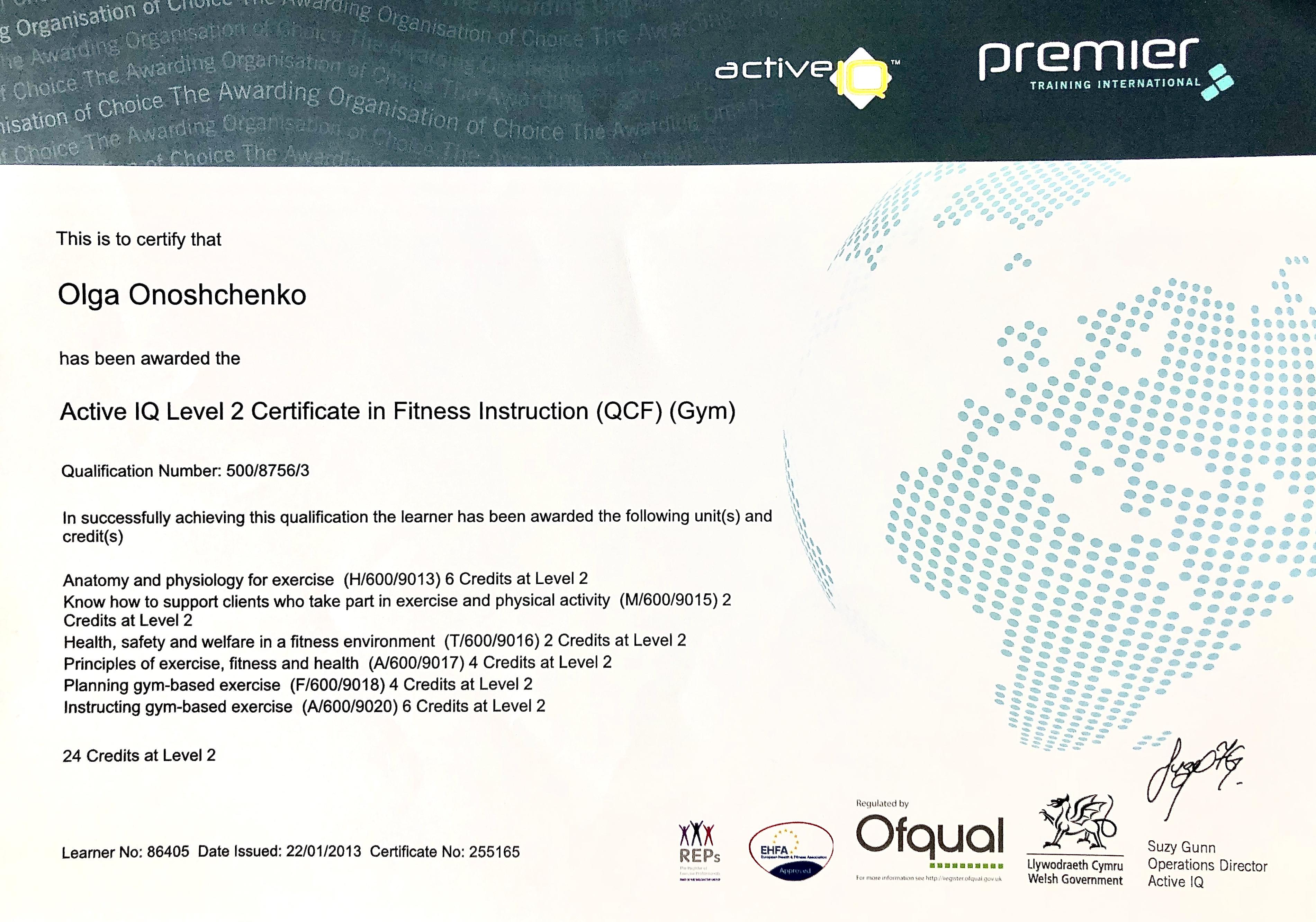 level 2 pt certificate.JPG