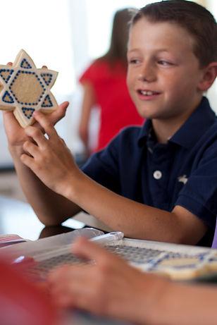 Children Making Star Shape Cookies