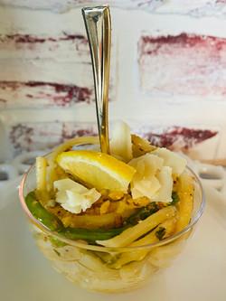 Lemon Basil & Asparagus Pasta Bowls