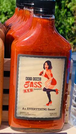 SASS Sauce RED