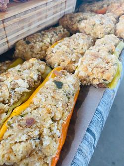 Bread Stuffed Peppers