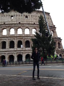 Buen día desde Roma!