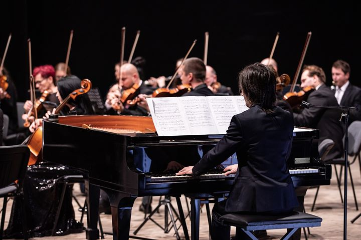 Playing with the wonderful Orchestra Fil