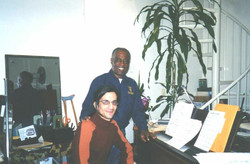 Mariano with Norman Simmons,USA 2004