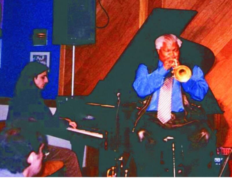Mariano with Ted Curson, USA 2006