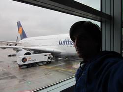 En unos minutos embarcando en esta bestia con alas hacia  New York! Abrazos y gracias por los deseos