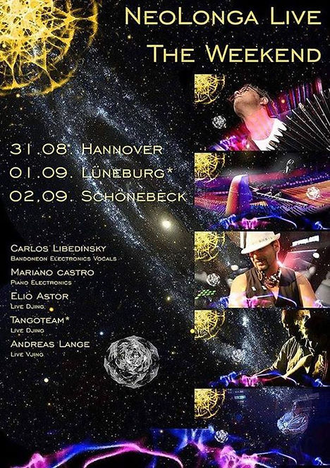 Germany weekend tour! Duet Carlos Libedi