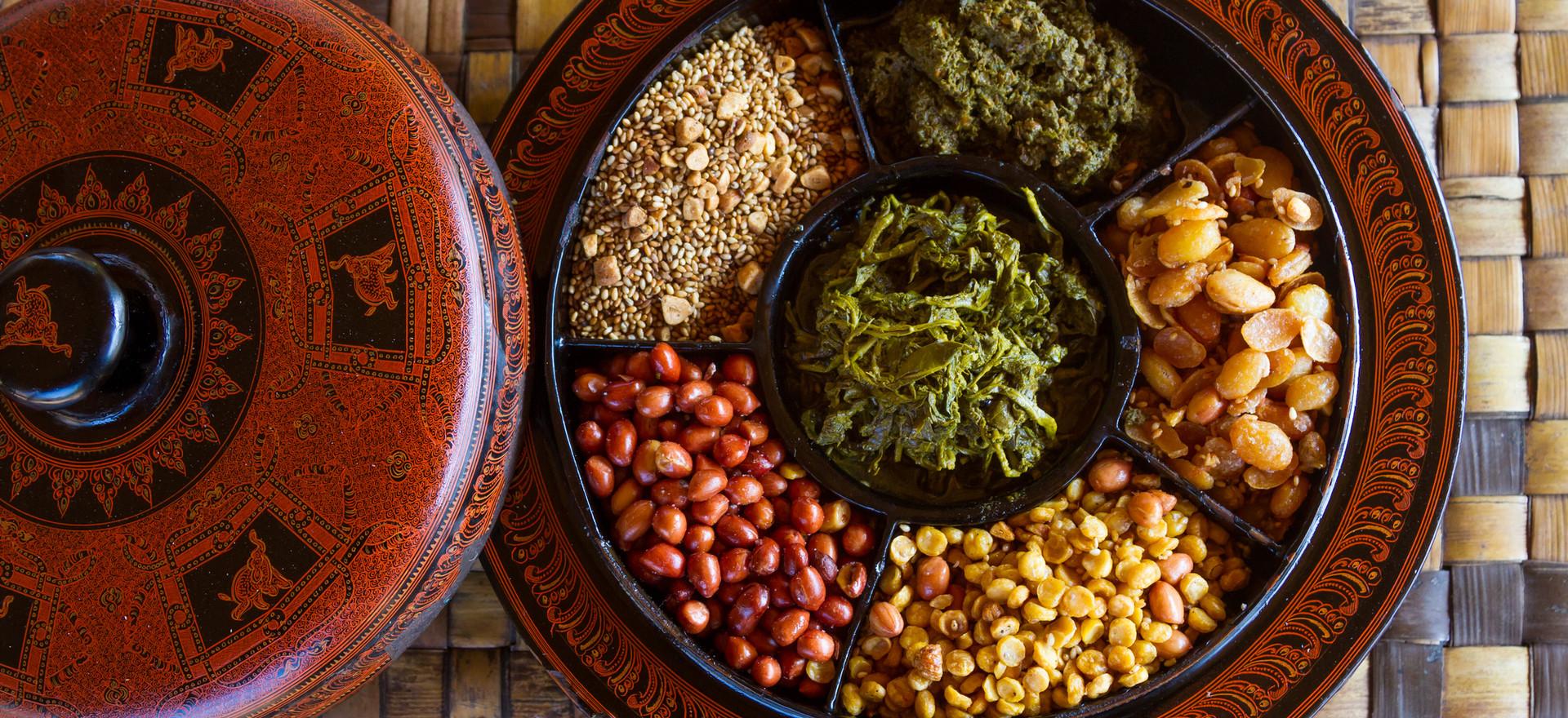 Traditionelles Myanmar Essen