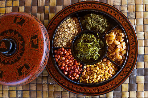 Traditioneel Myanmar-voedsel