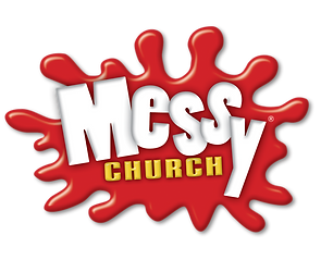 Official Messy Church logo - transparent