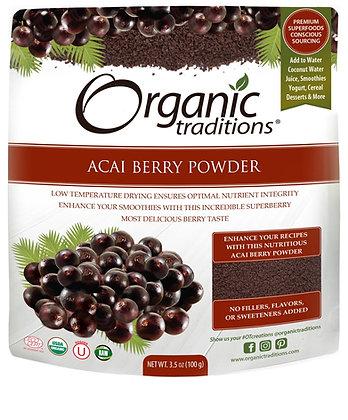 Acai Berry Powder- Organic Traditions