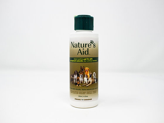 Nature's Aid Pets Natural Soothing Gel