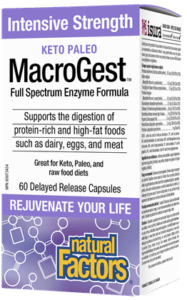 MacroGest Enzyme Formula-Natural Factors