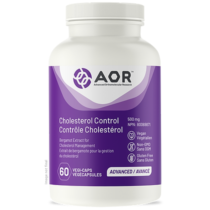 Cholesterol Control- AOR