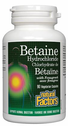 Betaine Hydrochloride- Natural Factors