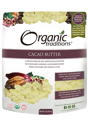 Cacao Butter- Organic Traditions