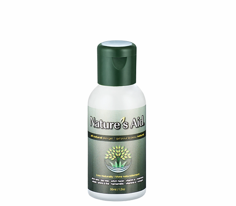 All Natural Skin Gel- Nature's Aid
