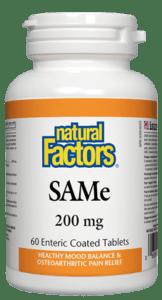 SAMe- Natural Factors