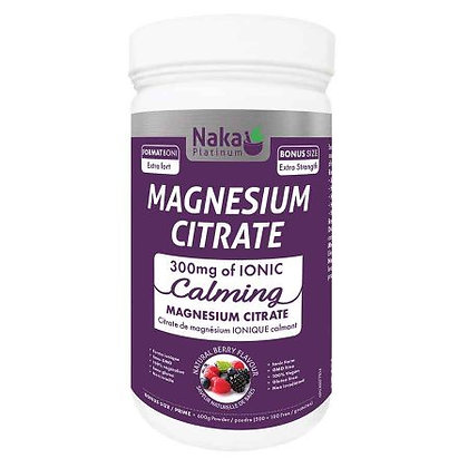 Magnesium Citrate Calming- Naka