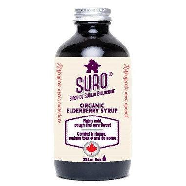 Organic Elderberry Syrup-SURO
