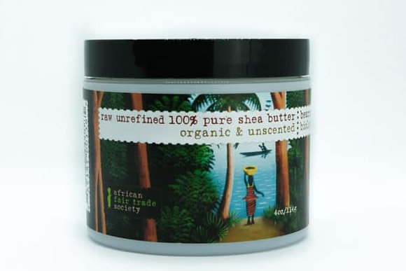 Raw Unrefined 100% Pure Shea Butter- African Fair Trade Society