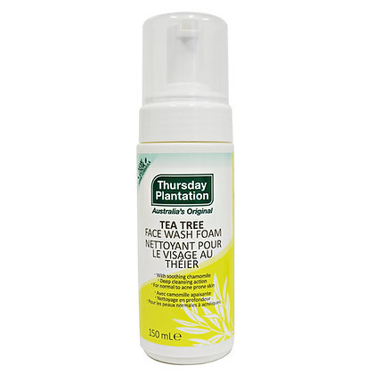 Tea Tree Face Wash Foam- Thursday Plantation